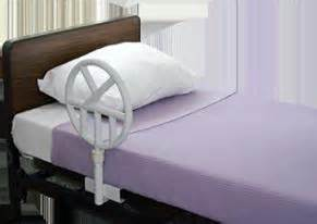 bed safety rails for the home and health facility