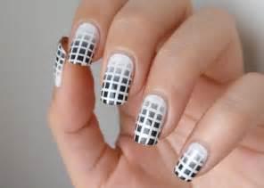 Black and white nail polish designs art expert