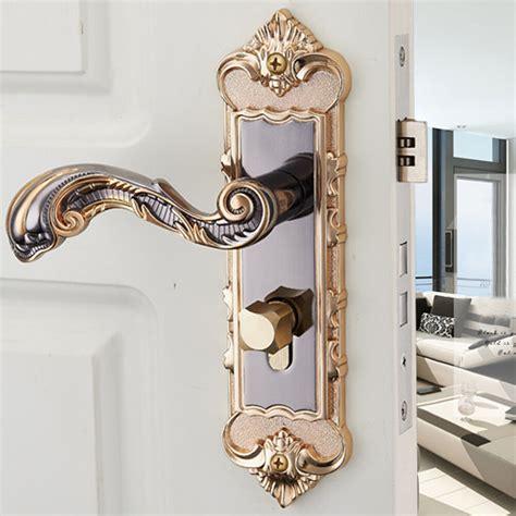 privacy entry indoor lever door lock set bedroom handle