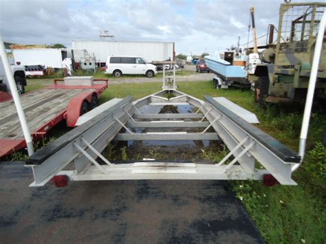 Aluminum Float On Boat Trailers by 1994 Float On 26 Ft Tri Axle Aluminum Boat Trailer