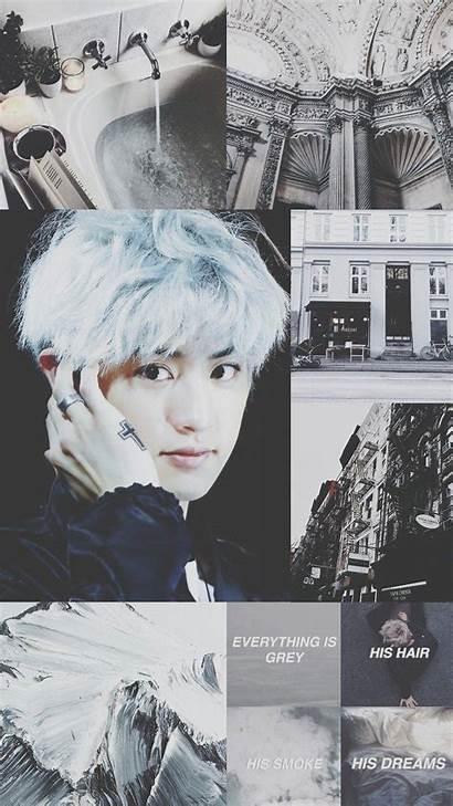 Aesthetic Chanyeol Grey Wallpapers Android Exo Kpop