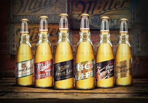 miller high life heritage series  dieline branding