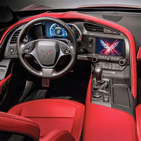 c7 corvette interior c7 corvette stingray z06 grand sport 2014 real carbon