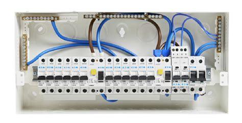 eaton memera eas8h63ds 8 way metal consumer unit 63a 30ma split load tob electrical
