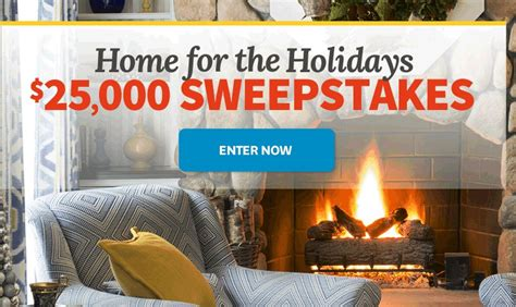 homes  gardens bhg holidays  sweepstakes