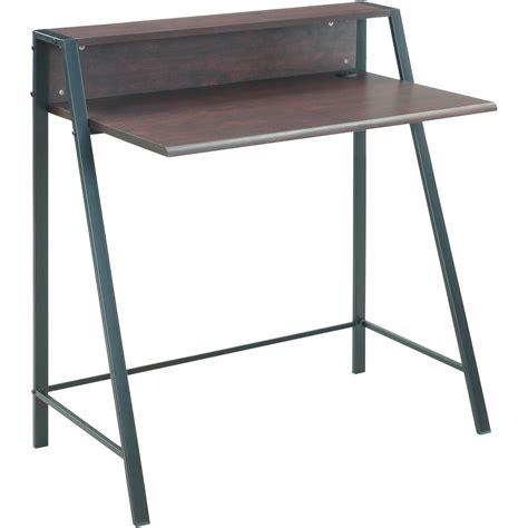 mainstays computer desk with side shelves instructions 2 tier desk best home design 2018