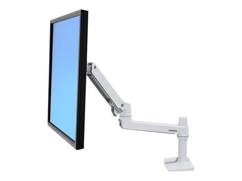 ergotron lx desk mount monitor arm ergotron lx desk mount lcd monitor arm white 45 490 216