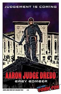 Aaron Judge Dredd NYCC 2017 Print 1A | Michael Dolce: The ...