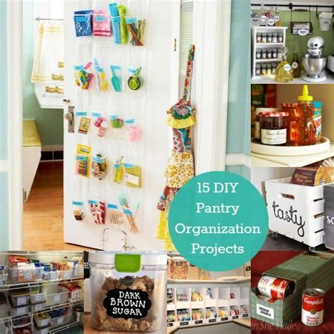 diy kitchen organization decor hacks 15 diy pantry organization projects to start 3408