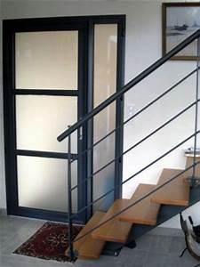 Porte D Entrée Tiercée : porte tierce alu vitrage satinovo ~ Carolinahurricanesstore.com Idées de Décoration