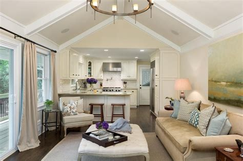 Decorating Ideas For Open Living Room And Kitchen - open concept kitchen family room design ideas