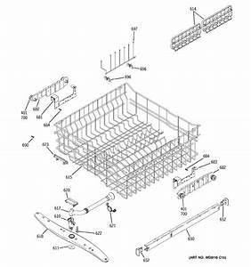 Ge Gld6960n20ss Dishwasher Parts