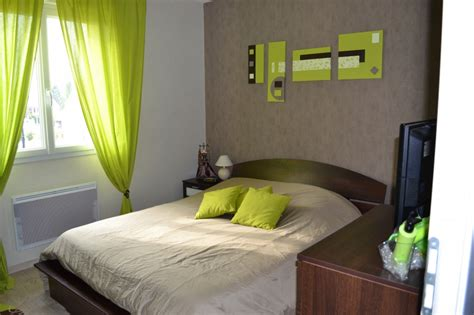 chambre d h e la bresse déco chambre vert gris