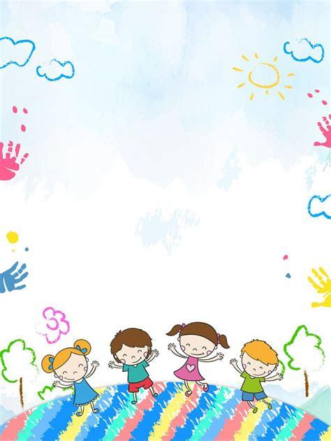 كرتون اطفال الروضة افتتاح الموسم خلفية ملصقات Psd, كرتون, الأطفال, روضة, صورة الخلفية  Stuff To Buy