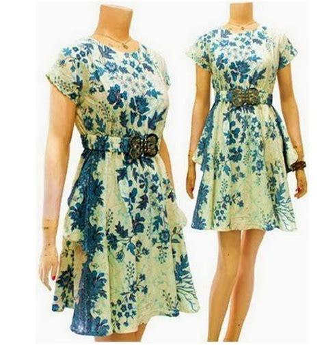 dress batik modern terbaru dbd baju batik wanita dress