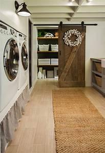 1001 idees comment amenager sa buanderie fonctionnelle With porte de douche coulissante avec tapis salle de bain super absorbant