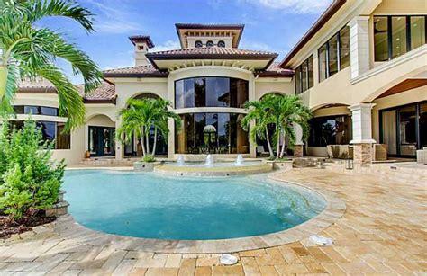 square foot mediterranean lakefront mansion