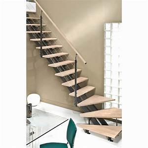 Tour A Bois Pas Cher : escalier pas cher quart tournant avec escalier ~ Melissatoandfro.com Idées de Décoration