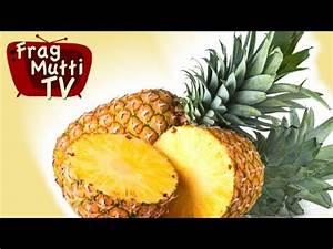 Ananas Schneiden Gerät : ananas richtig schneiden frag mutti tv youtube ~ Watch28wear.com Haus und Dekorationen