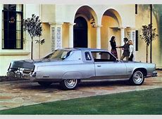 Malaise Monday 83 Chrysler New Yorker Brougham The