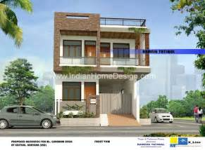 2 story house plans with 4 bedrooms modern indian style villa home design for a 2575 sq