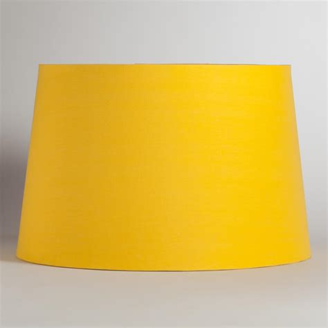 yellow l shade yellow floor l shade yellow silver embossed floor l shade world market sale yellow and grey
