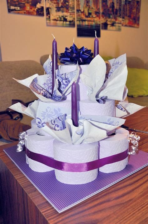 torte aus toilettenpapier torte aus toilettenpapier selber machen torte anders gestalten