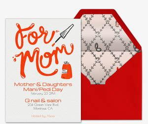 Celebrate Mothers Day Pretty Luncheon by S Day Free Invitations Evite
