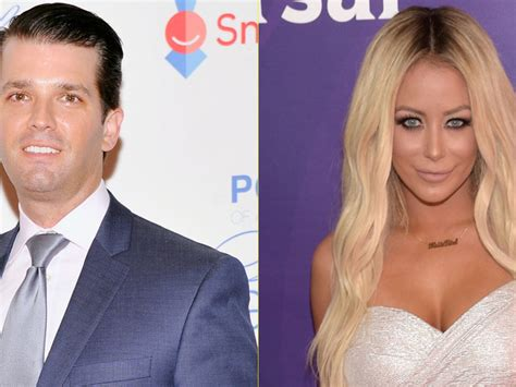 trump affair jr donald reportedly had married anygator apprentice aubrey
