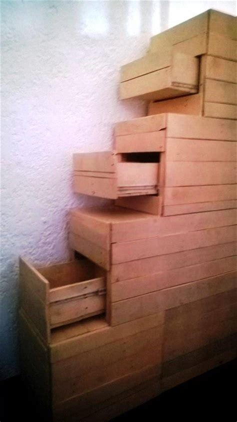 unique pallet stair design pallets designs