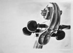 Violin Scroll by Thessen on DeviantArt