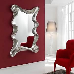 Miroirs Design Contemporain : miroir mural design laque blanc orta zd1 mir d ~ Teatrodelosmanantiales.com Idées de Décoration
