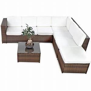 Garten Lounge Kissen : li il 19tlg cccl polyrattan garten lounge set handgeflochten ~ Markanthonyermac.com Haus und Dekorationen
