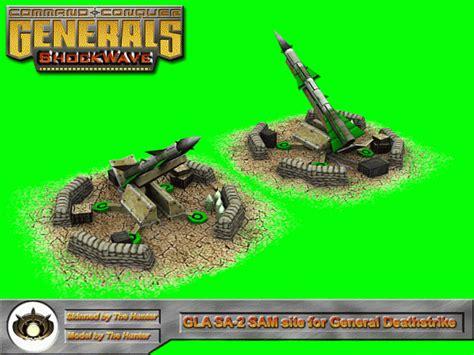 sam site sa shockwave generals render zero hour mod mods cc embed moddb