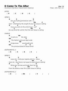 Image Result For Oh Come To The Altar Chords