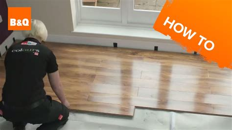 lay flooring part  laying locking laminate youtube