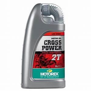 Huile Moteur Moto : huile moteur motorex cross power 2t 1l entretien moto ~ Melissatoandfro.com Idées de Décoration