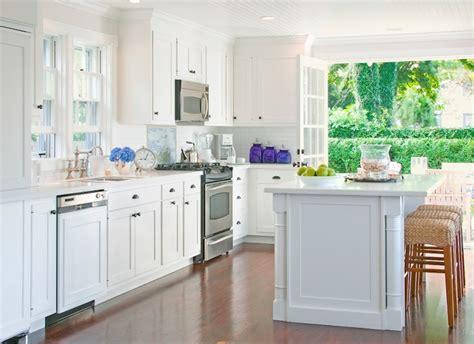 Hidden Dishwasher   Transitional   kitchen   Beach Glass