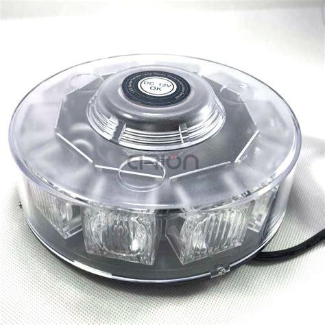 emergency strobe light 30w 10 led beacon light bar magnetic car emergency warning