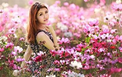 Flower Asian Flowers Field 4k Desktop Chinese