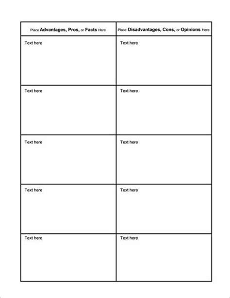 comparison chart templates word  excel