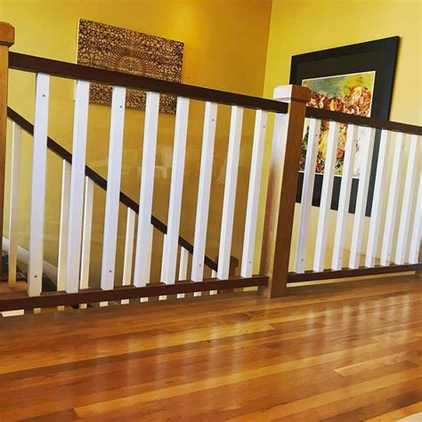 Banister Safety Guard by Child Safe Plexiglass Banister Shield Baby Safe Homes