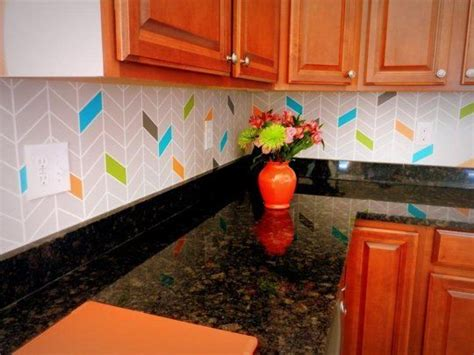 kitchen backsplash for renters 10 removable kitchen backsplash ideas 5033