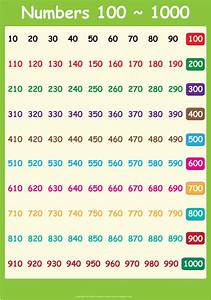 6 Best Images Of Printable Number Chart 1 1000