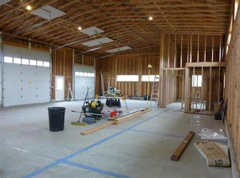 garage  living quarters design  decor ideas