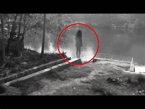 Real Ghost Caught On CCTV Camera | Scary Video Footage ...