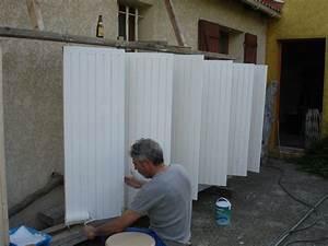 peindre volet bois myqtocom With support pour peindre volets