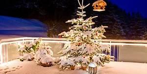 Weihnachtsdeko Ideen Für Draußen : weihnachtsdekoration f r terrasse und balkon ~ Articles-book.com Haus und Dekorationen