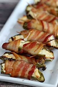 Bacon Wrapped Stuffed Jalapeño Poppers recipe - Easy ...