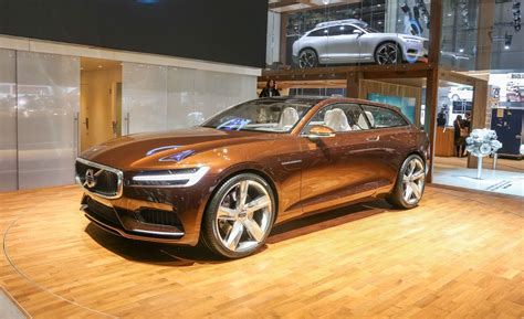 volvo concept estate   info news car  driver